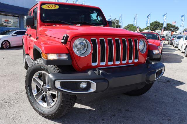 2019 Jeep Wrangler Unlimited Sahara in Miami, FL 33142