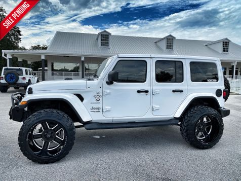 2019 Jeep Wrangler Unlimited V6 SAHARA WHITE-OUT LIFTED LEATHER 35
