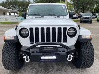 2019 Jeep Wrangler Unlimited WHITE-OUT V6 SAHARA LEATHER 35s MOTO METALS  Plant City Florida  Bayshore Automotive   in Plant City, Florida