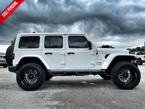 2019 Jeep Wrangler Unlimited WHITE-OUT V6 SAHARA LEATHER 35