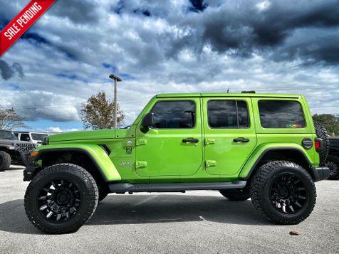 2019 Jeep Wrangler Unlimited SAHARA ALTITUDE V6 MOJITO LEATHER NAV ALPINE in Plant City, Florida