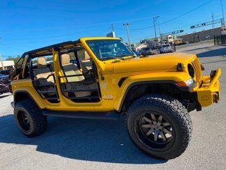2019 Jeep Wrangler Unlimited HELLAYELLA TURBO SAHARA LEATHER BLACK RHINOs  Plant City Florida  Bayshore Automotive   in Plant City, Florida