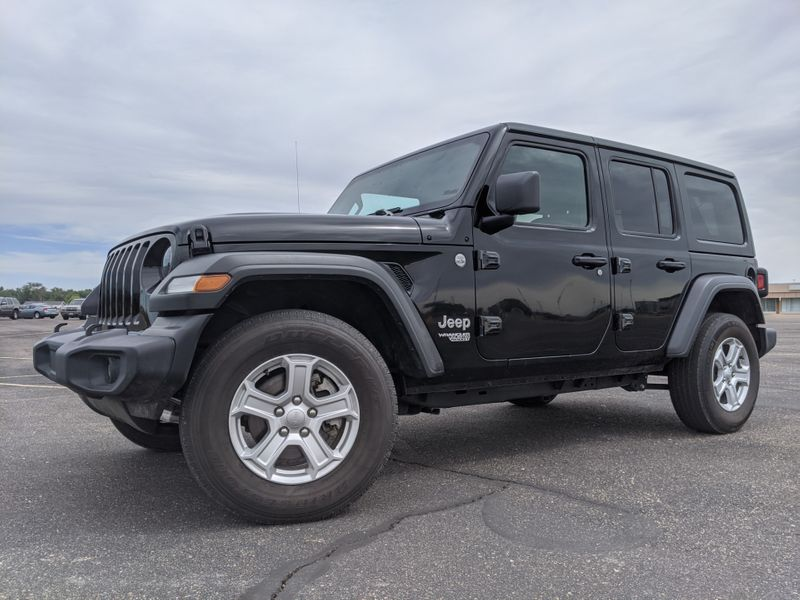 2019 Jeep Wrangler Unlimited Sport S 4x4  Fultons Used Cars Inc  in , Colorado