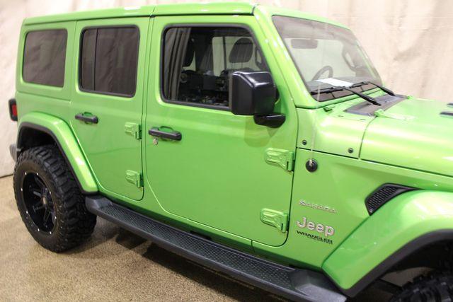 2019 Jeep Wrangler Unlimited Sahara in Roscoe, IL 61073