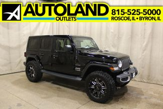 2019 Jeep Wrangler Unlimited Sahara in Roscoe, IL 61073