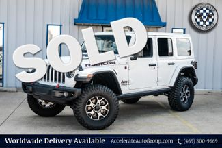2019 Jeep Wrangler Unlimited RUBICON, 4X4, 3-PIECE HARD TOP, LOW MILES, CLN CFX in Rowlett