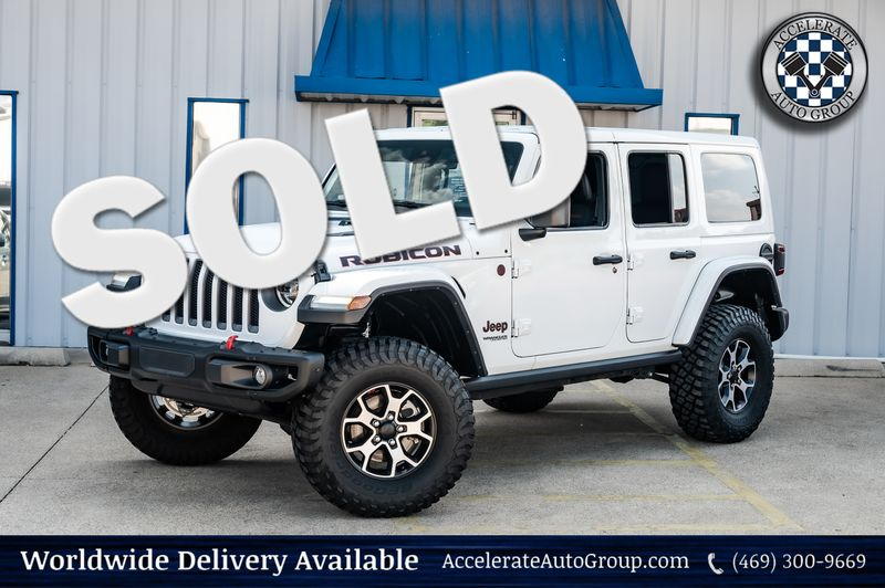 2019 Jeep Wrangler Unlimited RUBICON 4X4 3-PIECE HARD TOP LOW MILES, CLEAN CFX in Rowlett Texas