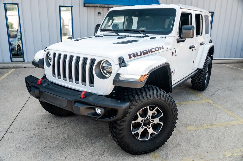 2019 Jeep Wrangler Unlimited RUBICON 4X4 3-PIECE HARD TOP LOW MILES, CLEAN CFX in Rowlett, Texas