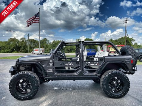 2019 Jeep Wrangler Unlimited CUSTOM LIFTED SAHARA HARDTOP LEATHER 37