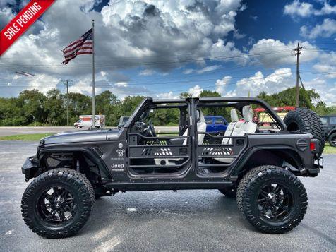 2019 Jeep Wrangler Unlimited CUSTOM LIFTED SAHARA HARDTOP LEATHER 37
