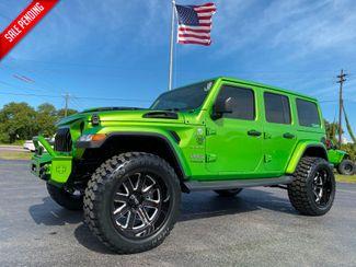 2019 Jeep Wrangler Unlimited MOJITO SAHARA HARDTOP NAV ALPINE   Plant City Florida  Bayshore Automotive   in Plant City, Florida