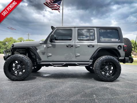 2019 Jeep Wrangler Unlimited CUSTOM LIFTED LEATHER HARDTOP FUEL DV8 OCD in , Florida