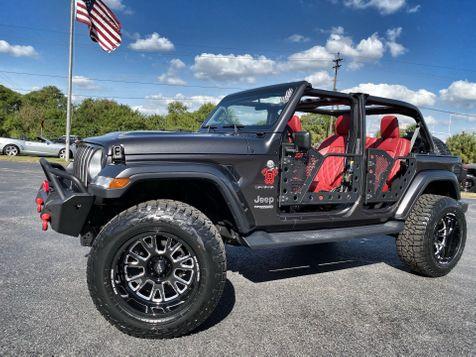 2019 Jeep Wrangler Unlimited CUSTOM TURBO SAHARA LEATHER HARDTOP FAB in , Florida