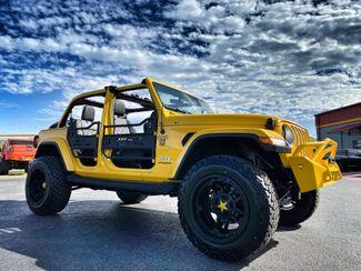 2019 Jeep Wrangler Unlimited HELLA YELLA CUSTOM LIFTED LEATHER SAHARA   Florida  Bayshore Automotive   in , Florida