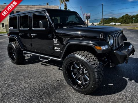2019 Jeep Wrangler Unlimited BLACKOUT CUSTOM SAHARA HARDTOP LEATHER in , Florida
