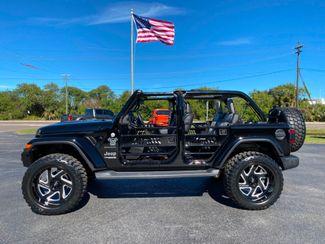 2019 Jeep Wrangler Unlimited BLACKOUT CUSTOM LIFTED SAHARA LEATHER HARDTOP   Florida  Bayshore Automotive   in , Florida