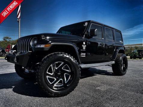 2019 Jeep Wrangler Unlimited BLACKOUT CUSTOM LIFTED SAHARA LEATHER HARDTOP in , Florida