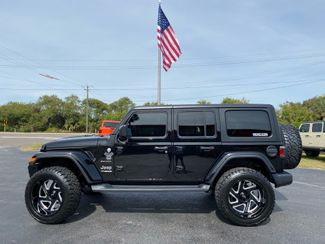 2019 Jeep Wrangler Unlimited CUSTOM LIFTED BLACK-OUT SAHARA FAB FOUR MOTO   Florida  Bayshore Automotive   in , Florida