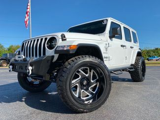2019 Jeep Wrangler Unlimited WHITE-OUT CUSTOM SAHARA LEATHER HARDTOP   Florida  Bayshore Automotive   in , Florida