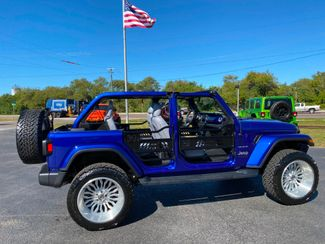 2019 Jeep Wrangler Unlimited CUSTOM LIFTED SAHARA LEATHER NAV FAB FOUR   Florida  Bayshore Automotive   in , Florida