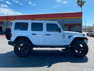 2019 Jeep Wrangler Unlimited CUSTOM LIFTED WHITE-OUT SAHARA LEATHER NAV   Florida  Bayshore Automotive   in , Florida