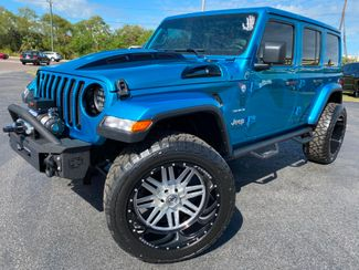 2019 Jeep Wrangler Unlimited BIKINI CUSTOM LIFTED SAHARA LEATHER NAV   Plant City Florida  Bayshore Automotive   in Plant City, Florida