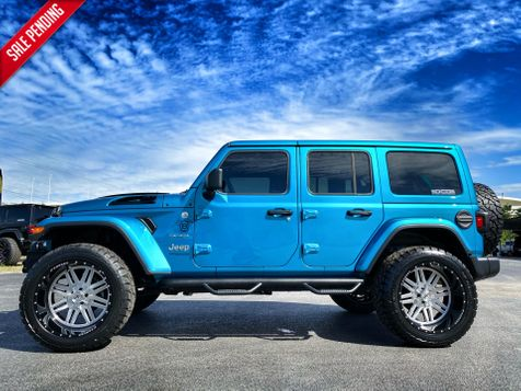 2019 Jeep Wrangler Unlimited BIKINI CUSTOM LIFTED SAHARA LEATHER NAV  in Plant City, Florida