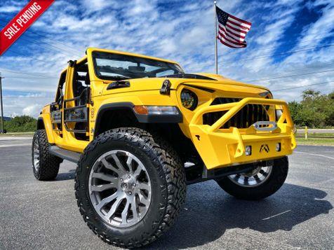 2019 Jeep Wrangler Unlimited HELLAYELLA CUSTOM LIFTED SAHARA LEATHER NAV in , Florida