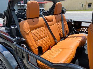 2019 Jeep Wrangler Unlimited CUSTOM BLACKOUT V6 LIFTED LEATHER SAHARA   Plant City Florida  Bayshore Automotive   in Plant City, Florida