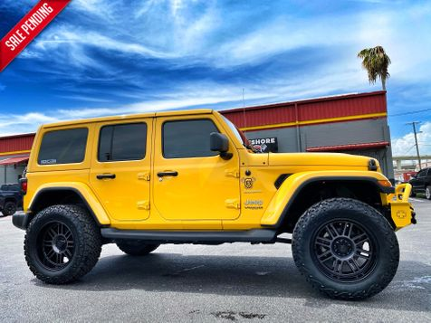 2019 Jeep Wrangler Unlimited V6 SAHARA LIFTED LEATHER HARDTOP NAV ALPINE  in Plant City, Florida