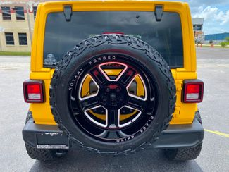 2019 Jeep Wrangler Unlimited HELLAYELLA CUSTOM LIFTED SAHARA LEATHER NAV  Plant City Florida  Bayshore Automotive   in Plant City, Florida
