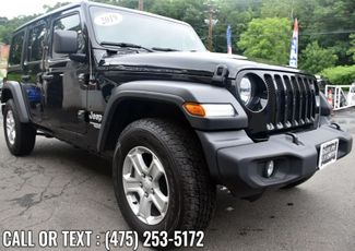 2019 Jeep Wrangler Unlimited Sport S Waterbury, Connecticut 6