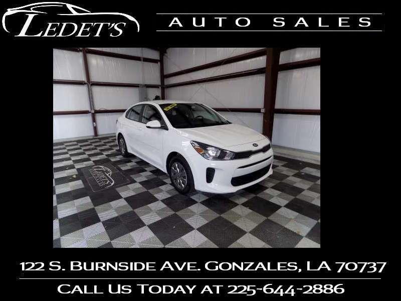 2019 Kia Rio S - Ledet's Auto Sales Gonzales_state_zip in Gonzales Louisiana