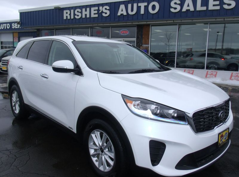 2019 Kia Sorento AWD 3rd Row Seating V6 HD Radio B/U Camera Low Miles!  | Rishe's Import Center in Ogdensburg New York