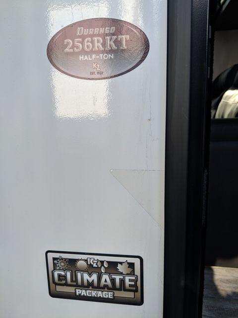 2019 Kz Durango Half-Ton D256RKT Mandan, North Dakota 3
