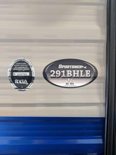 2019 Kz Sportsmen LE 291BHLE Mandan, North Dakota 2