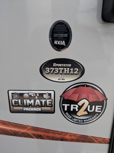 2019 Kz Sportster 373TH12 Mandan, North Dakota 3