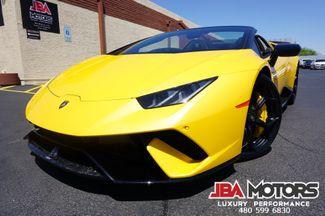 2019 Lamborghini Huracan Performante Spyder Convertible   MESA, AZ   JBA MOTORS in Mesa AZ