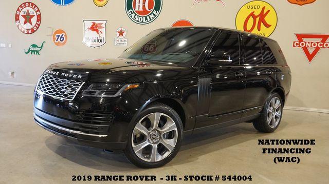 2019 Land Rover Range Rover MSRP 116K,HUD,ROOF,NAV,HTD/COOL LTH,3K