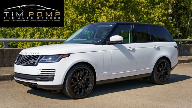 2019 Land Rover Range Rover 1 OWNER FACTORY WARRANTY REMAINING