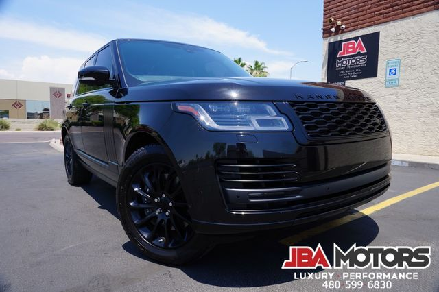 2019 Land Rover Range Rover HSE Full Size 4WD SUV Vision Assist Heads Up WOW