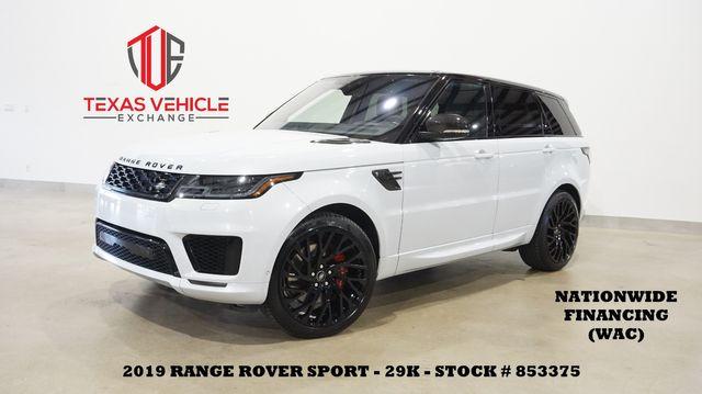 2019 Land Rover Range Rover Sport Dynamic ROOF,NAV,HTD/COOL LTH,22'S,29K