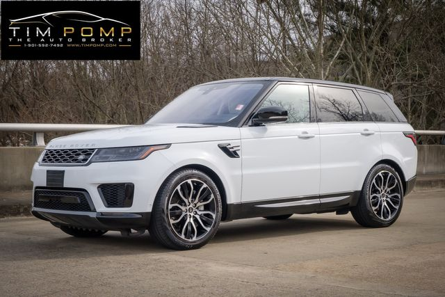 2019 Land Rover Range Rover Sport HSE BLACK ROOF PACKAGE