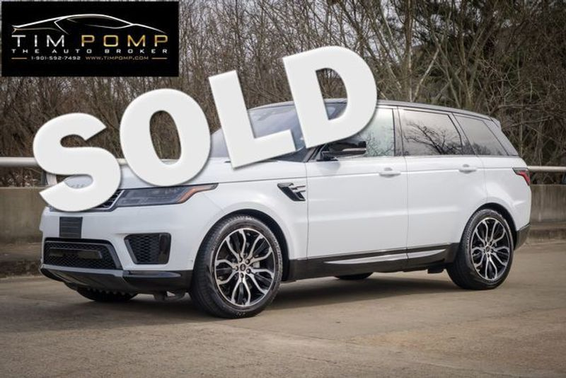 2019 Land Rover Range Rover Sport HSE | Memphis, Tennessee | Tim Pomp - The Auto Broker in Memphis Tennessee