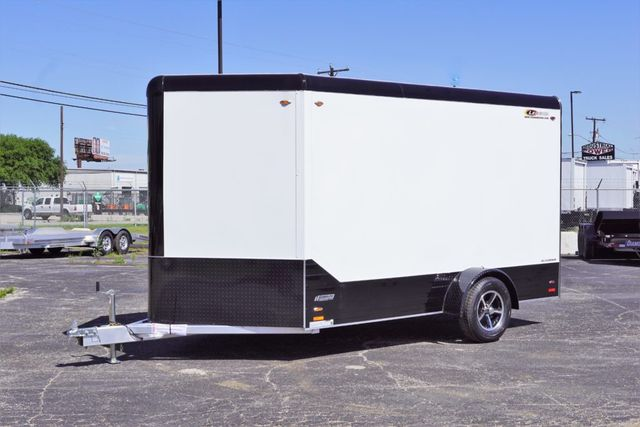 2019 Legend 7x15 Single Axle Deluxe V-Nose in Fort Worth, TX 76111