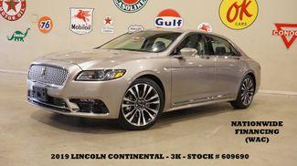 2019 Lincoln Continental Select MSRP 55K,NAV,HTD/COOL LTH,REVEL,3K in Carrollton, TX 75006