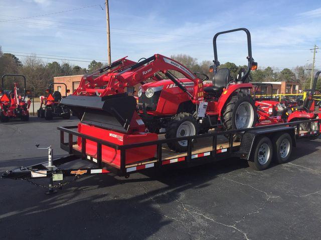 2019 Massey Ferguson MF1726E Tractor Package