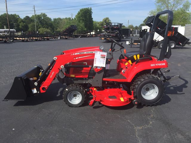 "2020 Massey Ferguson GC1723E wtih 60"" Belly Mower in Madison, Georgia 30650"