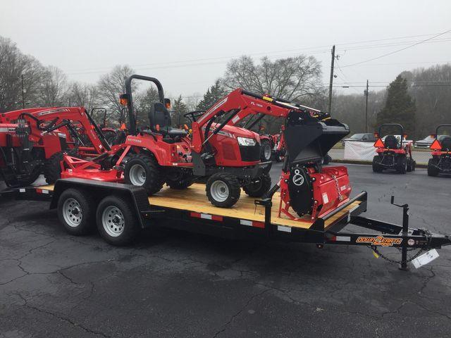 2020 Massey Ferguson GC1723E Tiller Package in Madison, Georgia 30650