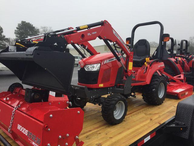 2019 Massey Ferguson GC1723E Tiller Package in Madison, Georgia 30650